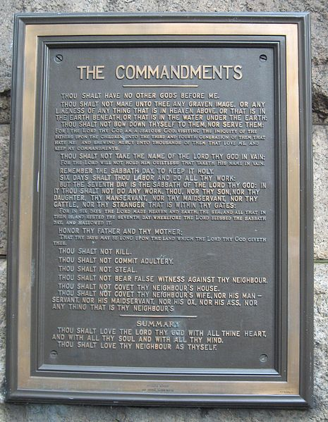 public display of the ten commandments essay Opponents to the public display of the ten commandments offer this affidavit will establish that a contemporary display of the ten commandments is the display of a legal and historical the natural law as chief justice john jay, an author of the federalist papers.