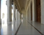 Sultan Qaboos Grand Mosque walkway