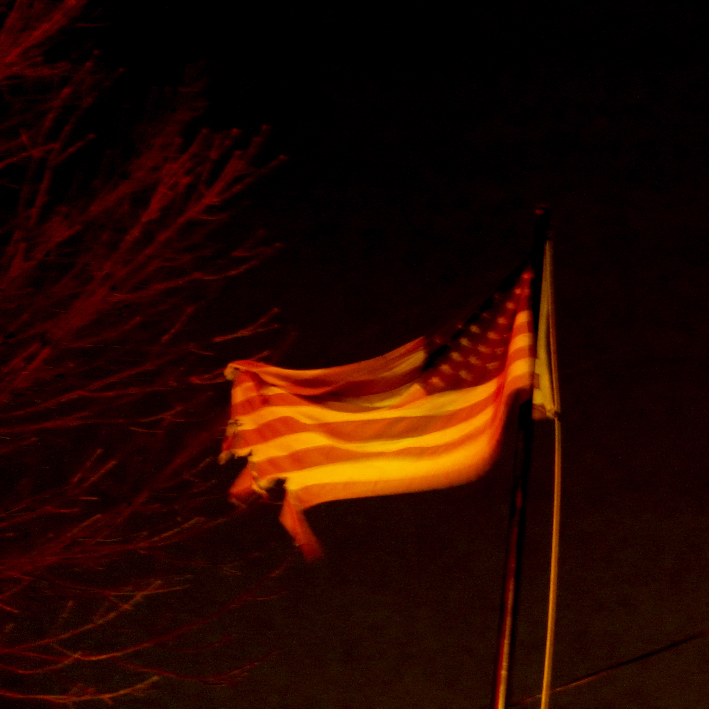 A Frayed Flag