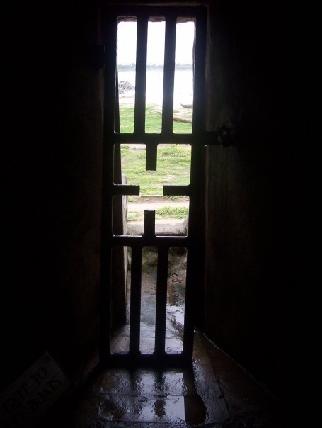 Ghana, West Africa: no slave that passed through this door as a slave ever returned. ALL RIGHTS RESERVED @tdbuchanan