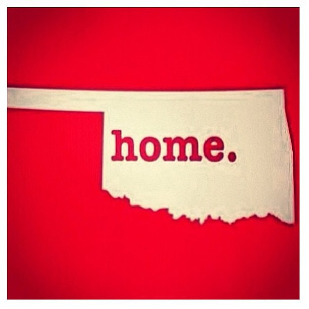 This image is being passed around social media in a show of solidarity with the people of Oklahoma