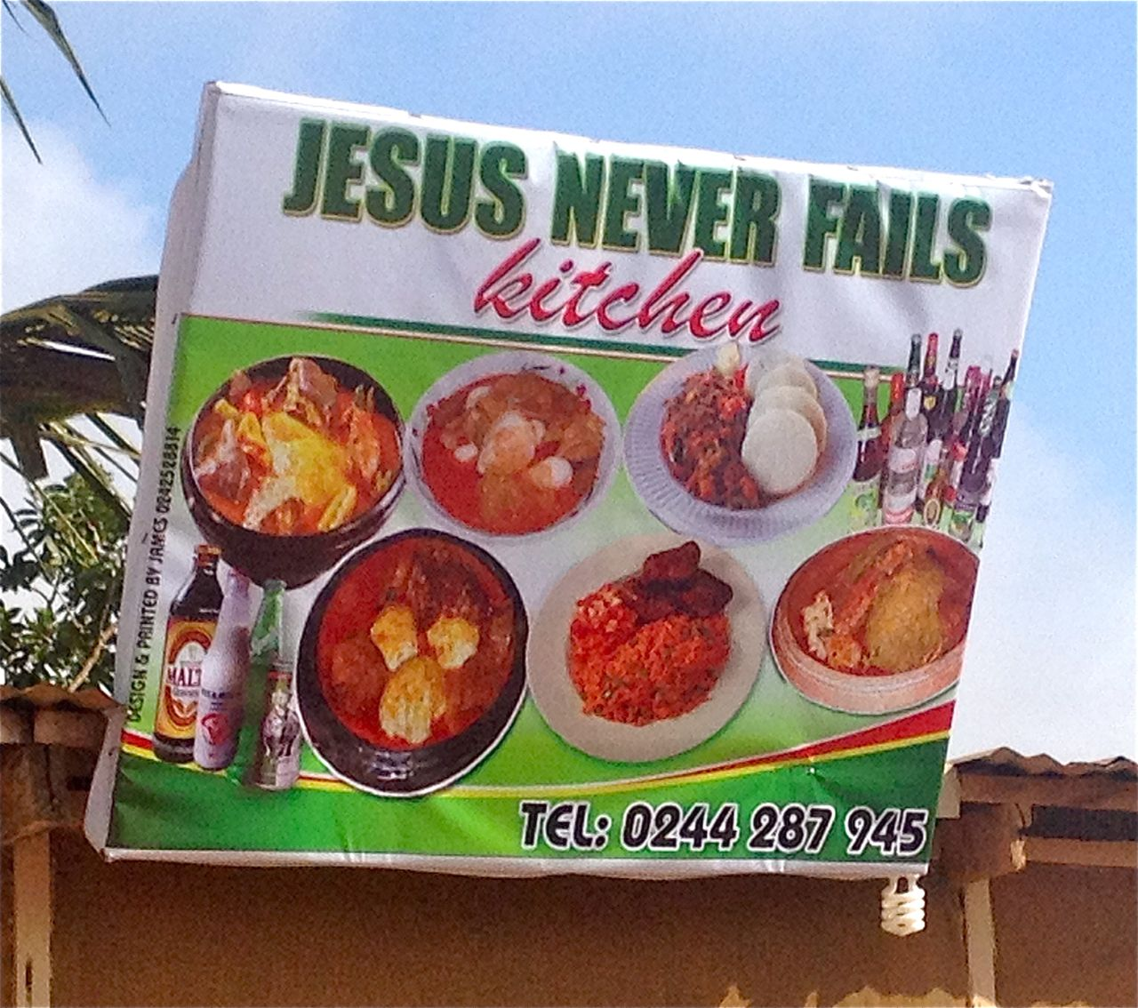Jesus Never Fails Kitchen