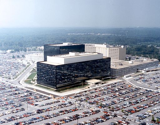 NSA Headquarters - Fort Meade, Maryland [Wikimedia Commons]