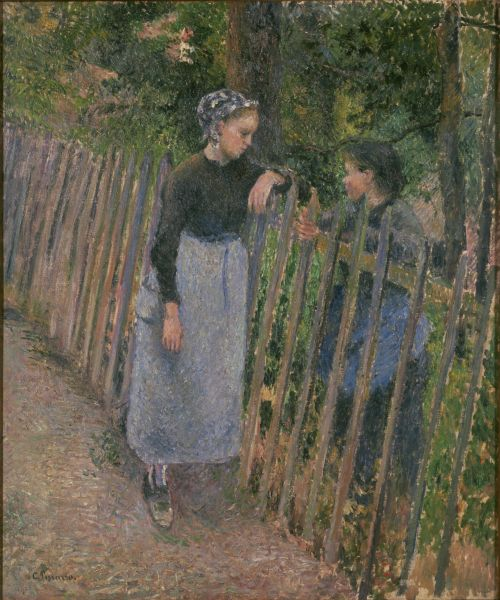 Artist: Camille Pissarro (1830–1903) . Source: Wikimedia Commons.