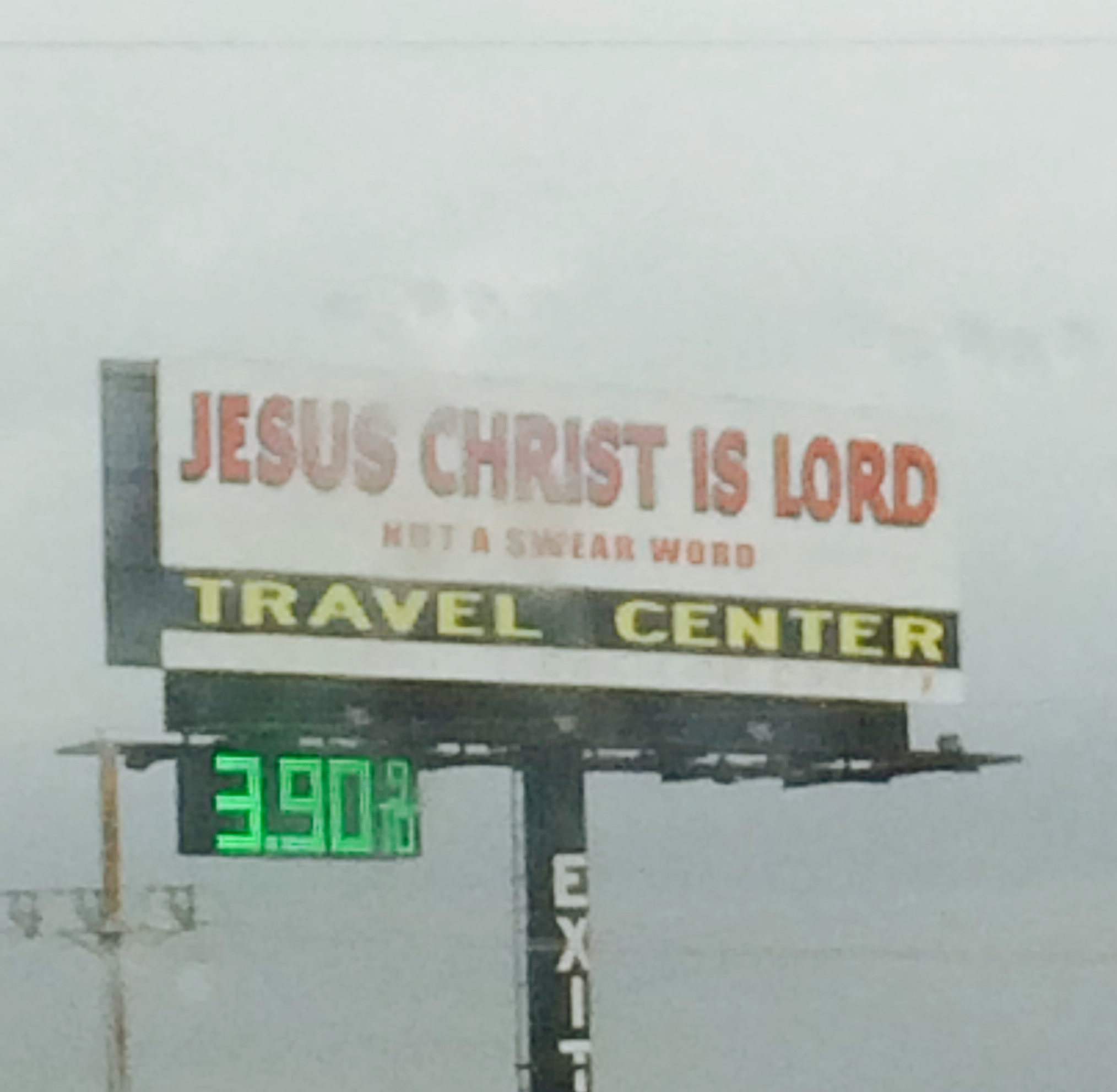 Travel Center on Interstate 40.