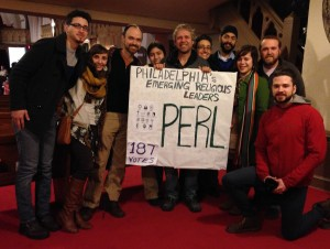 PERL members at POWER living wage campaign meeting