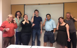 PERL members organized phone banks and canvasses as part of the living wage campaign