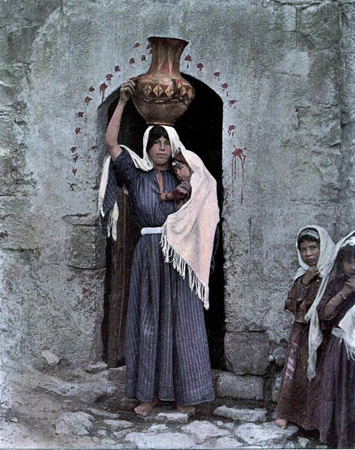 http://commons.wikimedia.org/wiki/File%3AA_woman_of_Samaria_c1912.jpg. By unattributed [Public domain], via Wikimedia Commons.