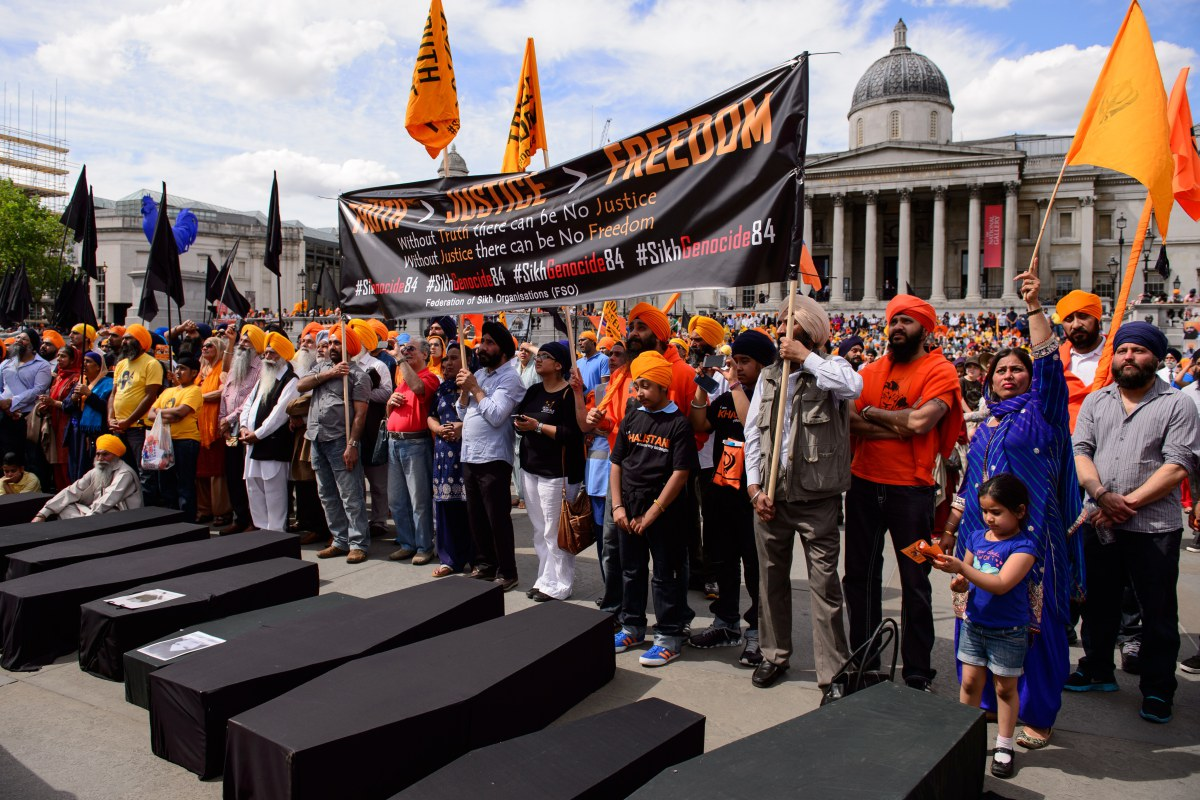 BRITAIN-INDIA-POLITICS-SIKHISM