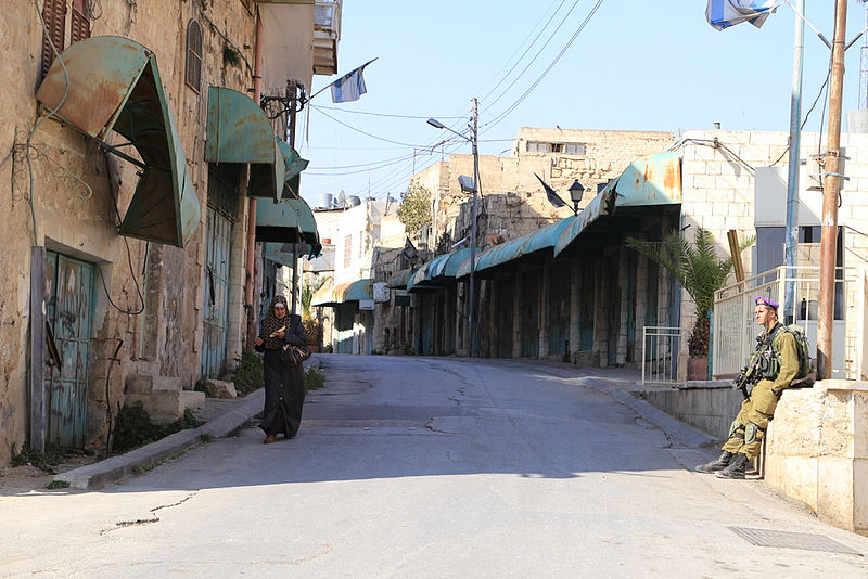 Author: Sharon Azran/B'Tselem. Creative Commons license, from Wikimedia Commons. Source: http://www.btselem.org/photoblog/20140115_hebron
