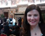 The author Jenn Lindsay at the Vatican for an audience with Pope Francis with the Pontifical Institute for the Study of Arabic and Islam.