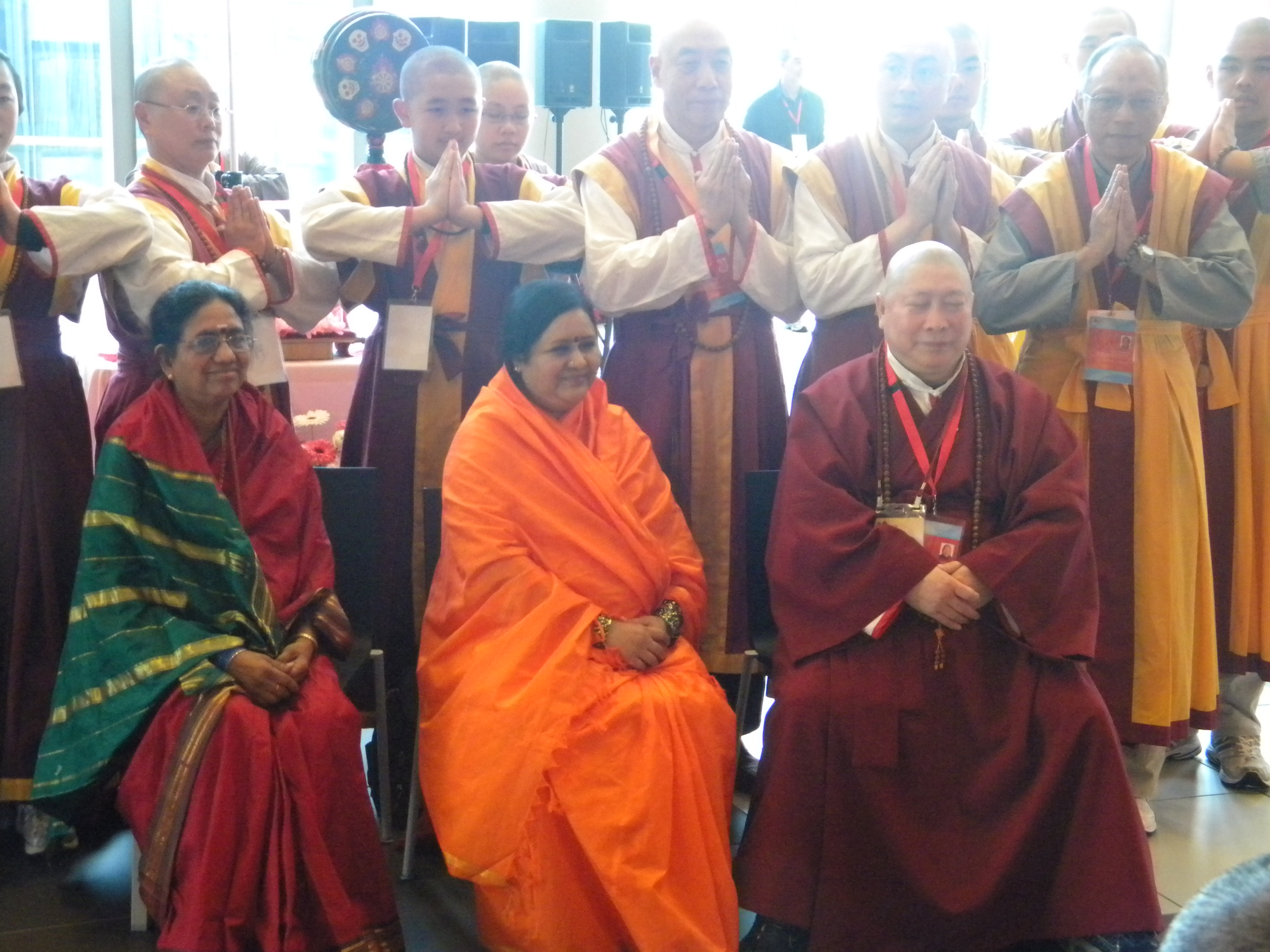 Taken by the author at the 2009 Parliament of the World's Religions in Melbourne, Australia.
