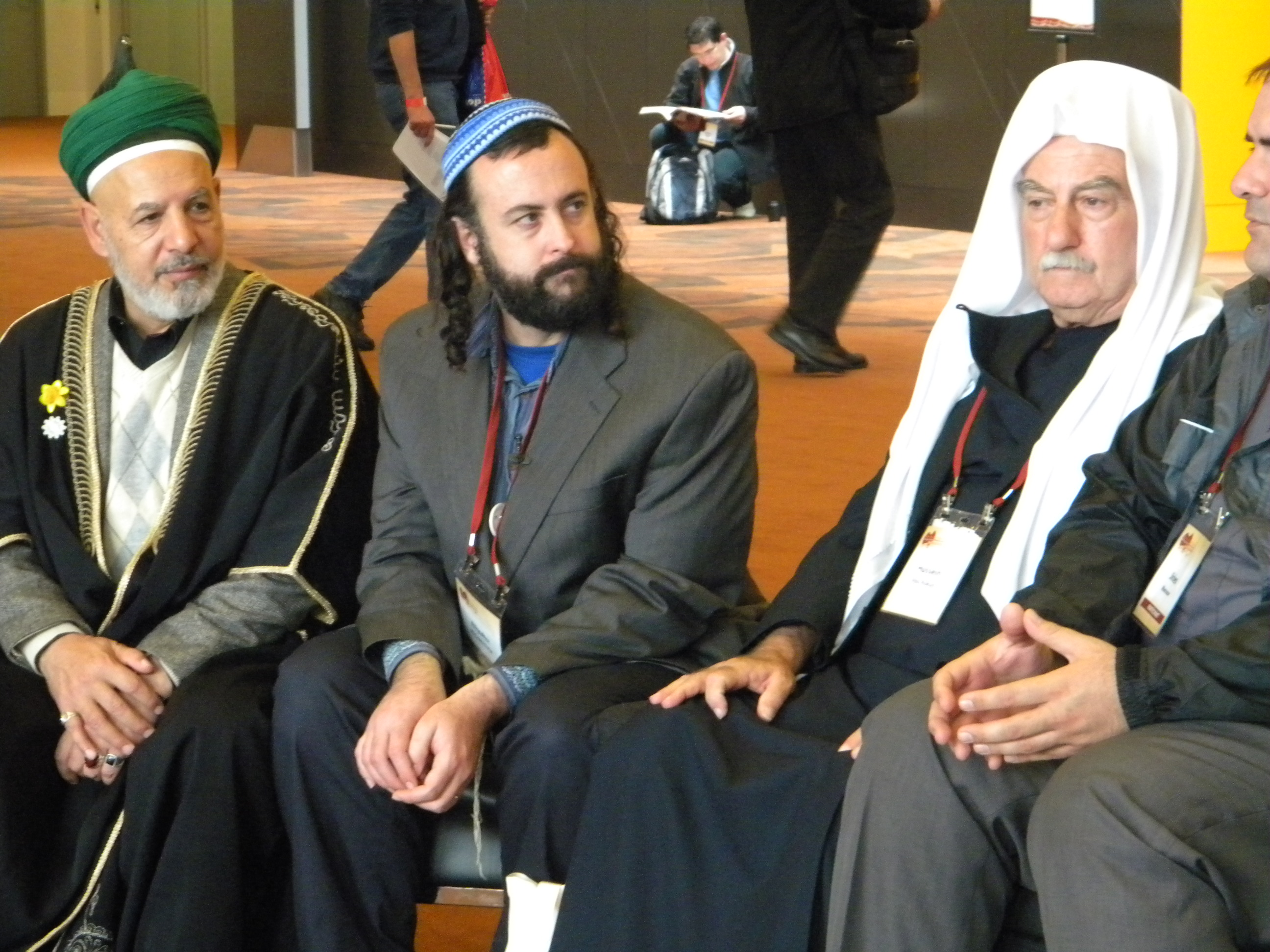 Photo taken by the author at the 2009 Parliament of the World's Religions.