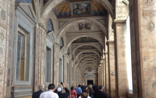 Photo taken by the author with the ICCJ in the Vatican.
