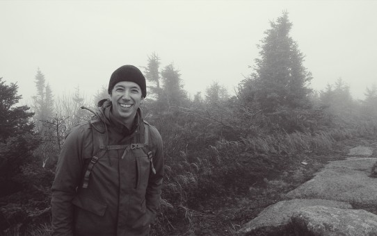 The author in the Adirondack mountains