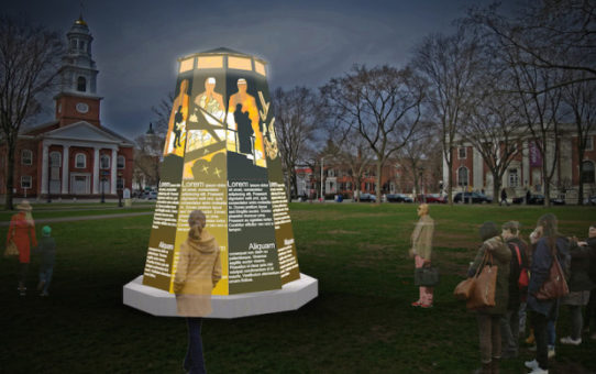 Image of future Green Light Project Sculpture