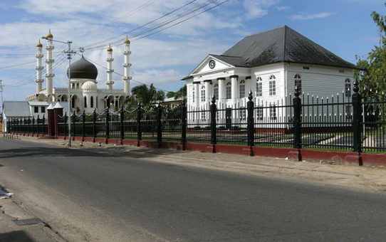 Mosque and Synagogue