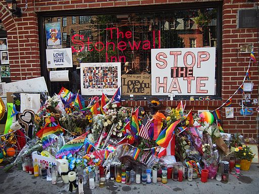 Wikimedia Commons Image of Stonewall Inn, a gay bar on Christopher Street in Manhattan's Greenwich Village.
