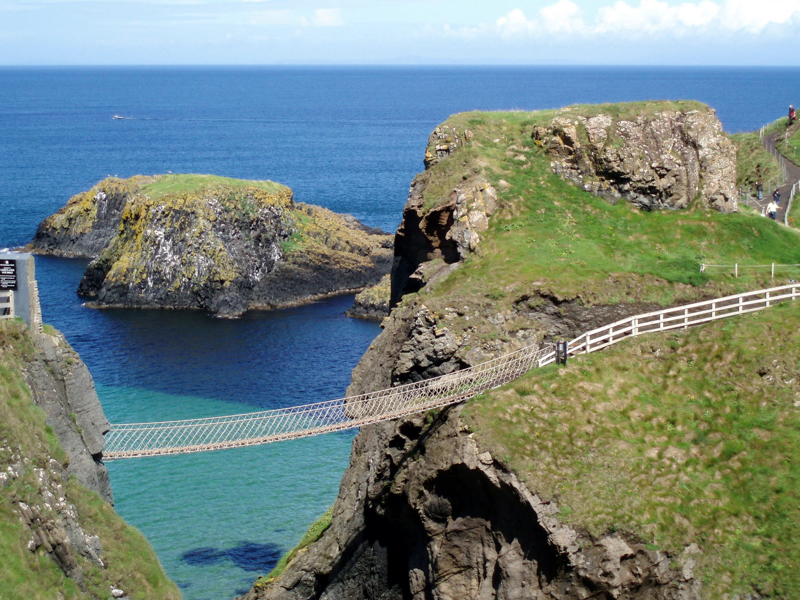 The rope bridge at Carrick-A-Rede